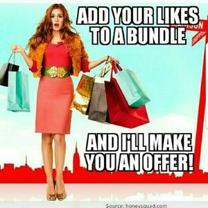 BUNDLE YOUR LIKES FOR AN OFFER